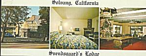 Solvang CA Suendsguard s Lodge Postcard lp0756 (Image1)