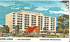 Indianapolis IN Howard Johnson s Motor Lodge lp0761 (Image1)