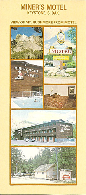 Keystone Sd Miner S Motel And Rv Park Lp0773