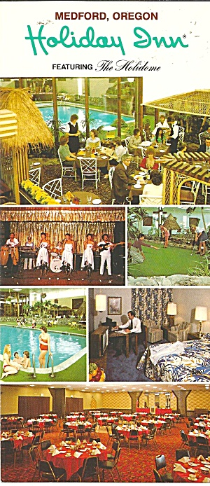 Medford Or Medford Holiday Inn Brochure Lp0781