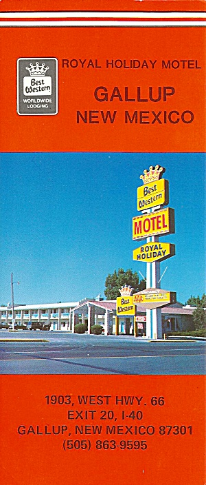 Galluo Nm Royal Holiday Motel Lp0782