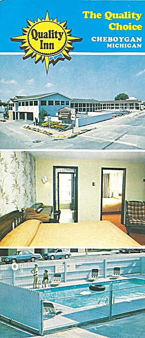 Cheboygan MI Quality Inn  Brochure lp0784 (Image1)
