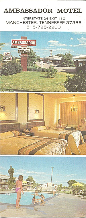 Manchester Th Ambassador Motel Lp0789