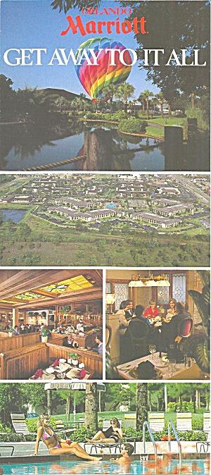 Orlando FL Marriott  postcard lp0802 (Image1)