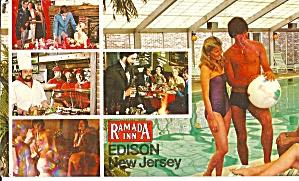 Edison NJ Ramada Inn postcard lp0805 (Image1)