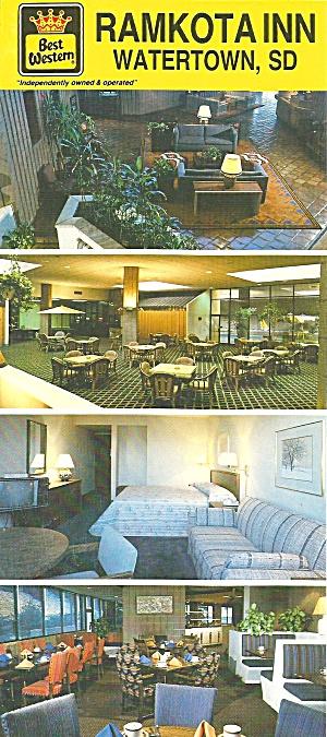 Watertown SD Ramkota  Inn postcard lp0812 (Image1)