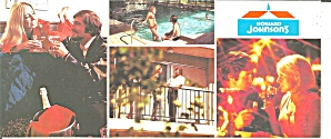 Ak Sar Ben Ok Howard Johnson S Motor Lodge Postcard Lp0823