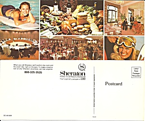 Sheraton Hotels Inns And Resorts Postcard Lp0827