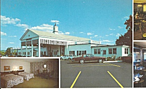 Wyomissing Pa Reading Motor Inn Postcard Lp0858