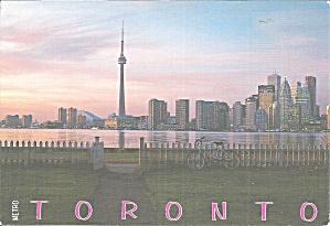 Toronto Ontario From Toronto Islands Postcard lp0847 (Image1)
