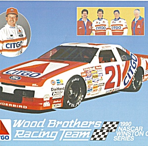 Neil Bonnet No 21 Wood Brothers Lp0857 Pit Card