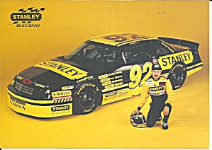 Larry Pearson Stanley Race Car Lp0865pit Card