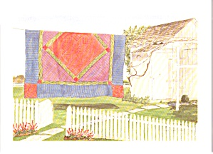 Amish Quilts Postcard from a Painting by Susie Riehl lp0880 (Image1)
