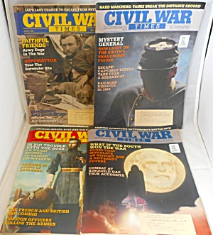 Civil War Times Magazine Lot of 4 1194 and 1995 M0017 (Image1)