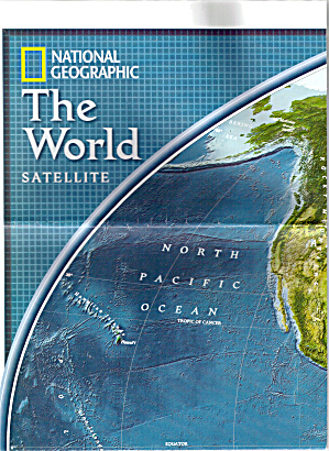 The World Satellite Nat Geo Map Ma0001