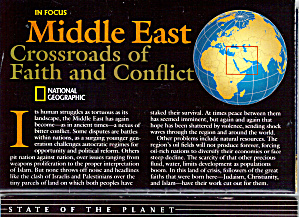 Heart Of The Middle East Nat Geo Map Ma0009
