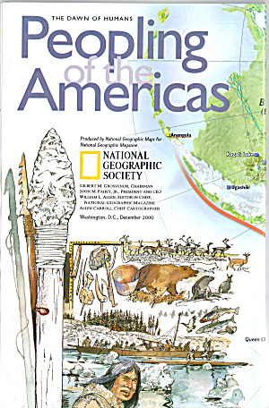 Peopling Of The America S Nat Geo Map Ma0014