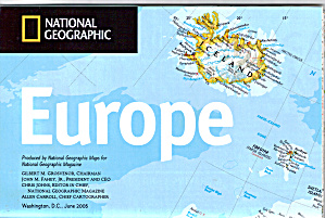Europe In Transition Nat Geo Map Ma0015