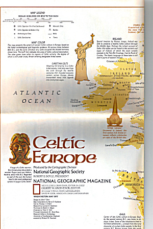 Celtic Europe Nat Geo Map Ma0032