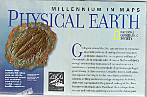 Physical Earth Nat Geo Map Ma945