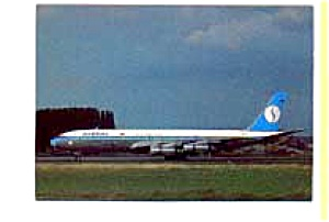 Sabena 707 Airline Postcard mar1364 (Image1)