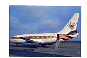 Air Executive 737 Airline Postcard mar1366 (Image1)