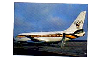 Busy Bee 737 Airline Postcard Mar1464
