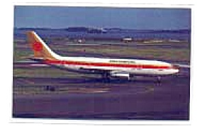 Continental A300 Airline Postcard mar1661 (Image1)