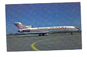 Turkish Airlines 727 Airline Postcard mar1662 (Image1)