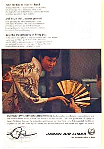 Japan Airlines Travel Opportunities Ad Mar1666