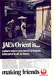 Japan Airlines Orient Is ... Ad