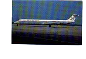 Inex Adria Super 80 Airline Postcard mar2156 (Image1)
