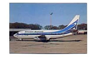 Aerolineas Argentinas 737 Airline Postcard mar2157 (Image1)