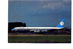 Sabena 707 Airline Postcard mar2164 (Image1)