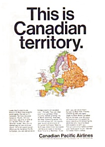 Canadian Pacific Airlines To Europe Ad Mar2760