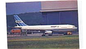 Vasp Airbus A300 Airline Postcard Mar3052