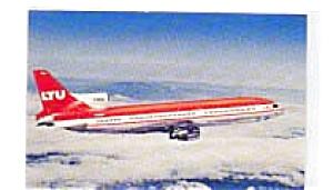 LTU L-1011 Tristar Airline Postcard mar3059 (Image1)