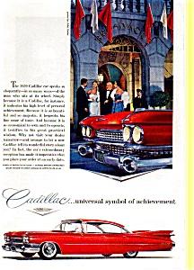 1959 Cadillac Hardtop Ad at Broadmoor may0253 (Image1)