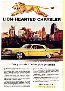 1959 Chrysler New Yorker Hardtop Ad (Image1)