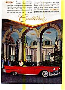 1957 Cadillac Convertible Ad (Image1)