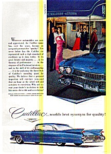 1959 Cadillac Ad at Waldorf Astoria (Image1)