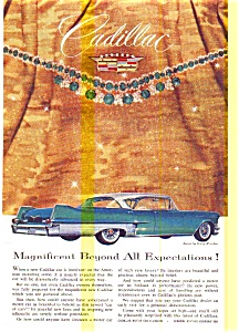 1957 Cadillac Ad with Jewels by Winston (Image1)