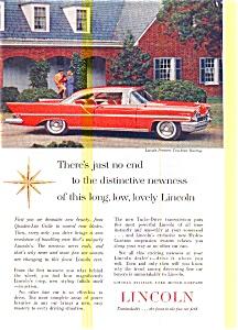 1957 Lincoln Premiere Hardtop Ad (Image1)