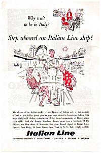 Italian Line Ad Apr 1957 (Image1)