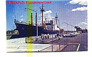 Eisenhower Lock St Lawrence Seaway Postcard may3202 (Image1)