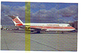 Florida Express BAC-111 Airline Postcard may3215 (Image1)