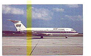 Britt Airways BAC-111 Airline Postcard may3216 (Image1)