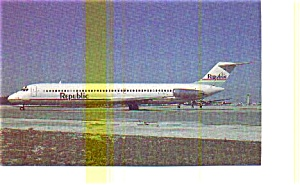 Republic DC-9-51 Airline Postcard may3221 (Image1)