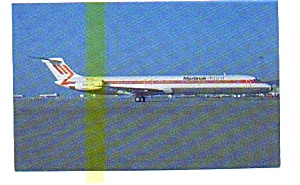 Martinair Super 80 Airline Postcard may3223 (Image1)