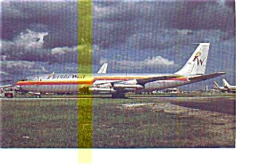 Florida West  707 Airline Postcard may3241 (Image1)
